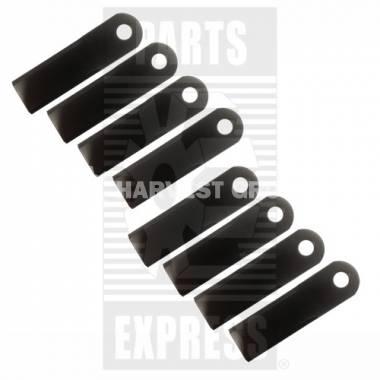 Комплект рухомих ножів подрібнювача 8шт AH205910 --> H156098