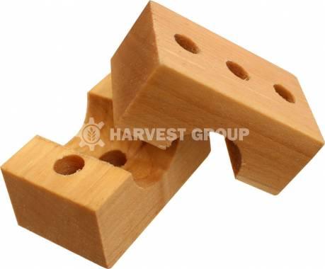 Підшипник дерев'яний (вал) 2 половинки H135475